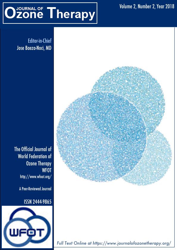 Journal of Ozone Therapy, Volume 2, Number 2, 2018
