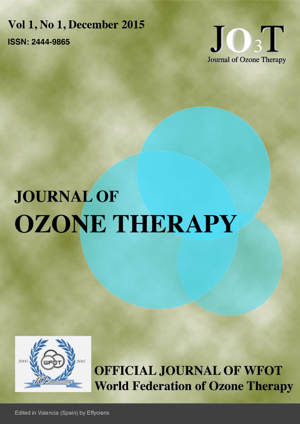 Journal of Ozone Therapy, Volume 1, Number 1, 2015